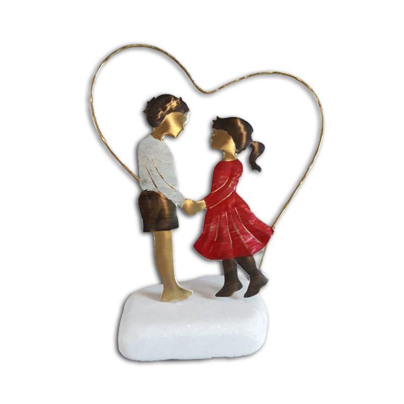 διακοσμητικό ζευγάρι σε καρδια