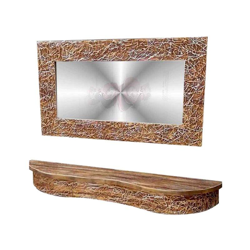 χειροποιητος ξυλινος καθρεπτης,καθρεπτης τοιχου,μοντερνος καθρεπτης