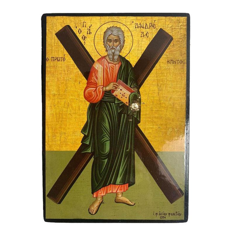 εικονα αγιου ανδρεα
