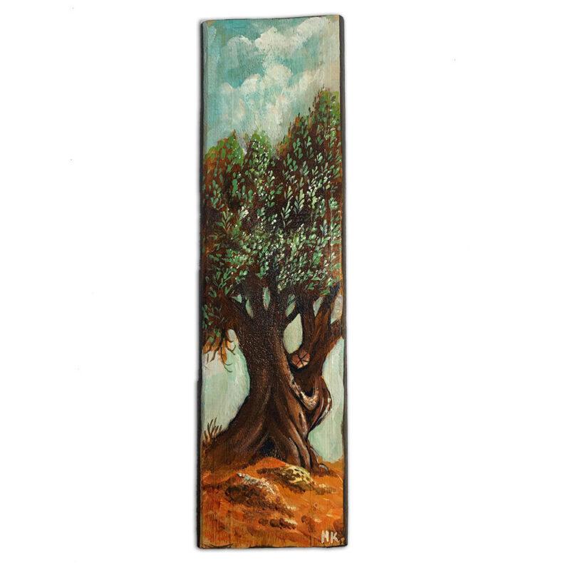 ελια ζωγραφικη σε ξυλο