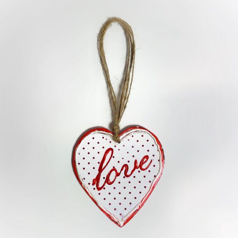 καρδια χειροποιητη κρεμαστη, καρδιες ζωγραφικη σε ξυλο