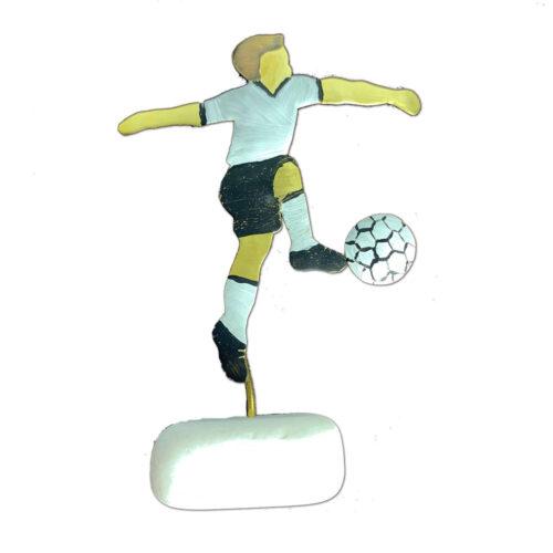 Χειροποιητο Διακοσμητικο Ποδοσφαιριστης