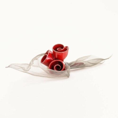 Διακοσμητικη Ανθοδεσμη με Κοκκινα Τριανταφυλλα